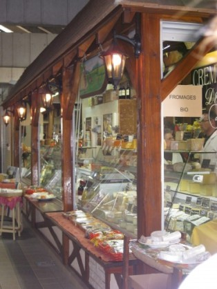 Poitiers market gites charente cheese shop classic car hire