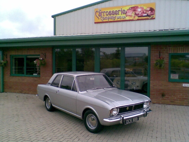 Lotus Cortina MK2 classic car