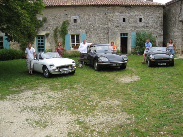MGB Roadsters and Citroen DS 23