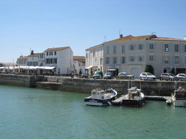 Ile de Re St-Martin-de-Re Harbour Charente Maritime gite holidays classic car rentals
