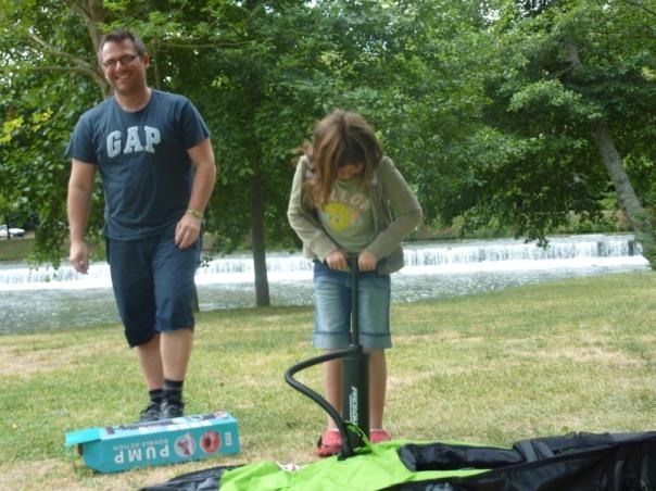 Ruffec Condac swimming lake Poitou Charente family gite holidays Classic car hire carp fishing Citroen DS