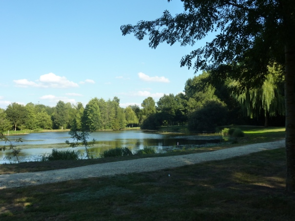 St Macoux swimming lake Poitou Charente family gite holidays Classic car hire carp fishing