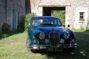 Jaguar MK2 classic car holiday
