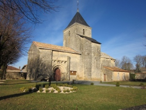 France winter breaks, Pilgrims Way, Romanesque Church