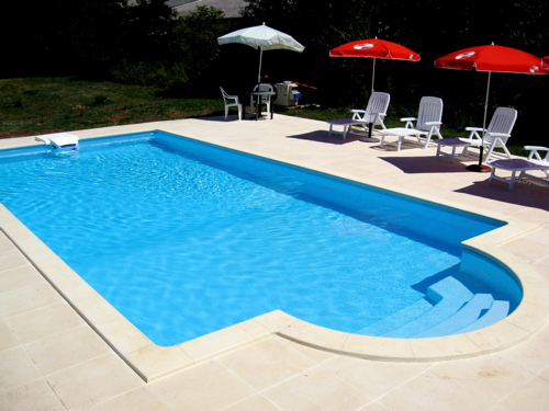 Gites with swimming pool in France