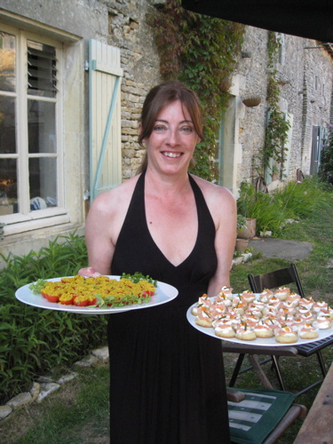 catering for birthday party at gite in France