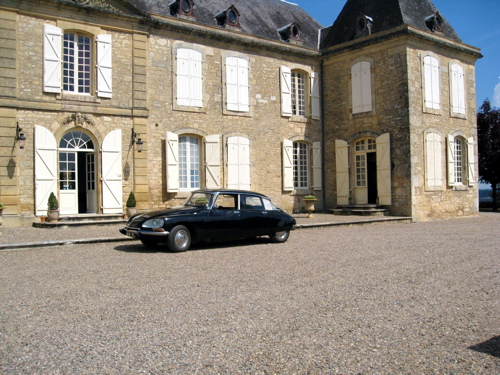 Classic wedding car hire France