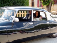 Wedding car hire France