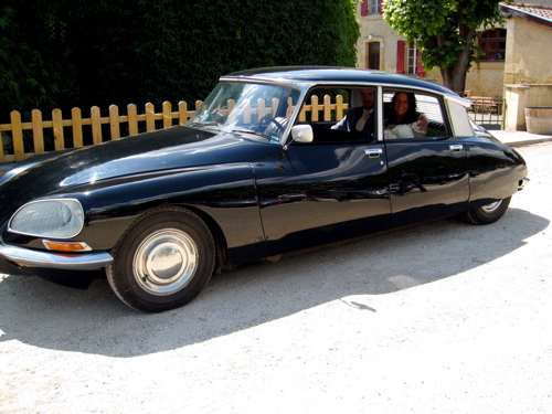 Wedding car hire in France, classic wedding car hire in France