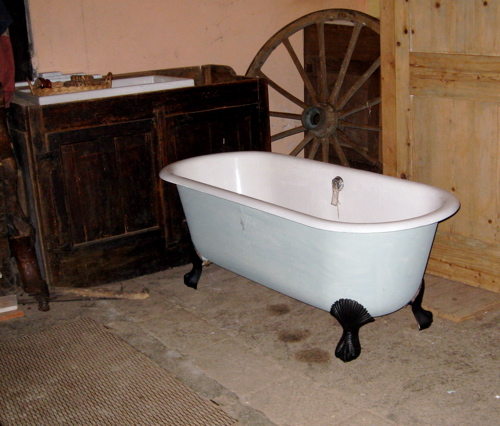 French antique sanitary ware