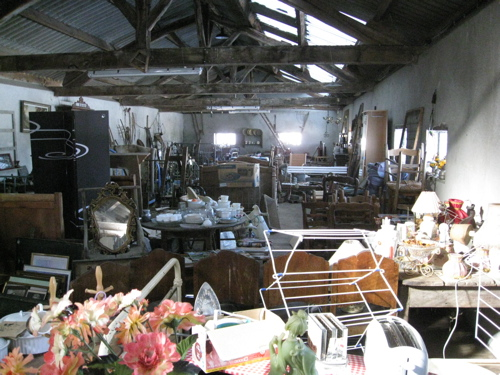 Bric-a-brac southwest France, brocante, French antiques