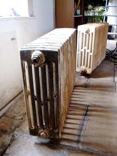 Antique radiators France French architectural salvage