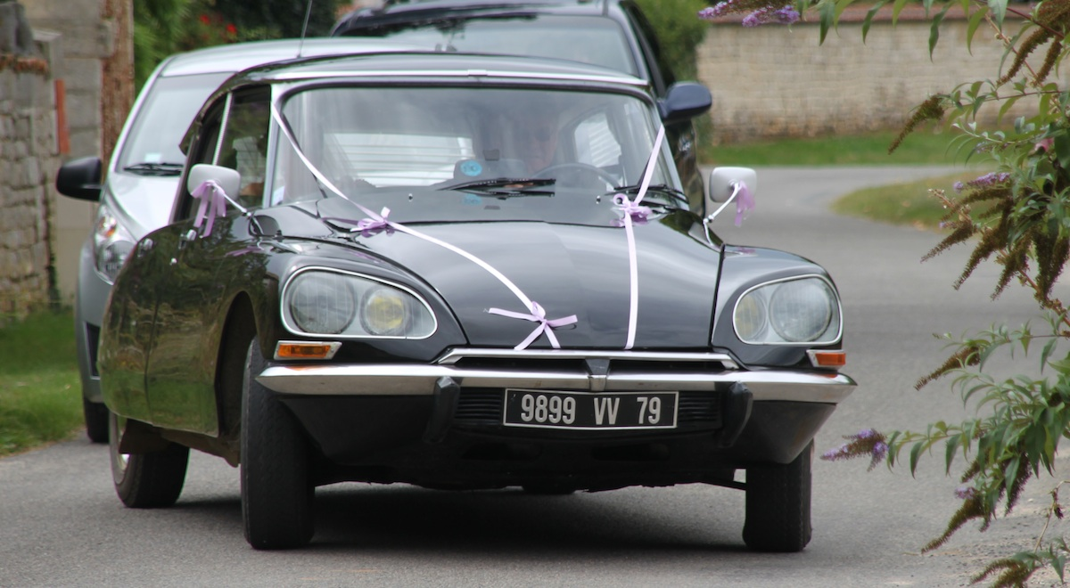 Citroen DS23 Wedding Car