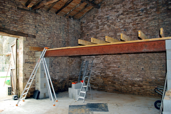 Barn Renovation To Classic Car Workshop Holiday Gites In