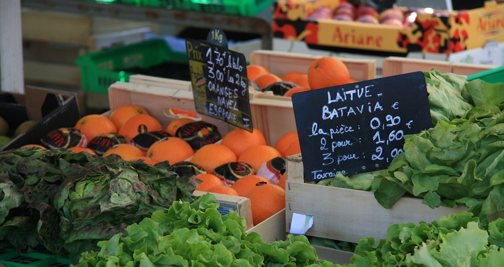 Fruit and Vegetables in France