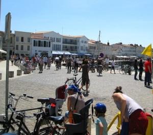 Cycling Il de Re gite holiday