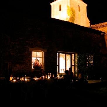 La Grange - dining outside