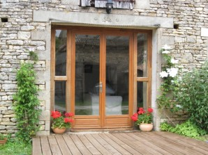 La Grange entrance and deck