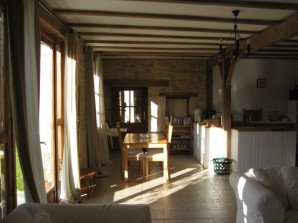 La Grange towards dining area
