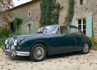 Jaguar MK2 classic car hire France