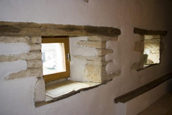 Through the window of bedroom 2