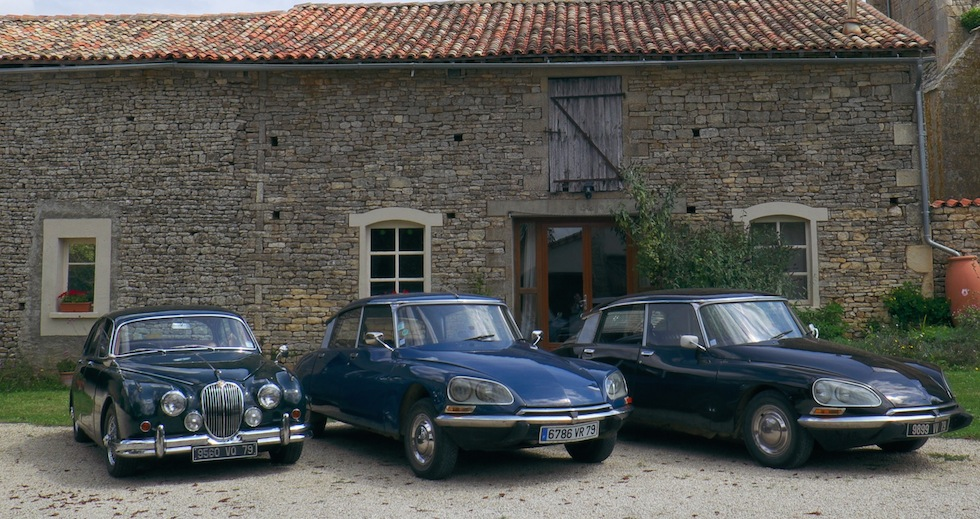 Classic cars hire, France