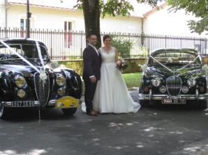 Wedding classic car hire France