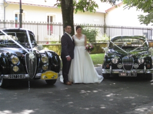 Wedding classic car hire France