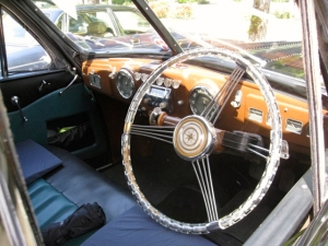 Classic wedding car hire in France
