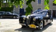 Jaguar MK2 wedding car hire, France