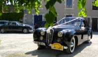 Jaguar MK2 wedding car hire, France