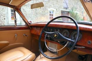 Classic Jaguar wedding car hire in France