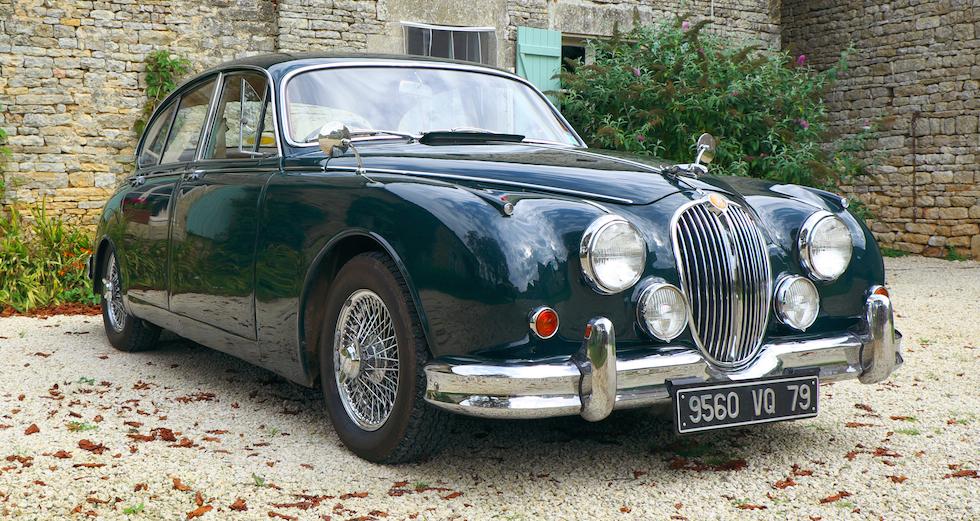 Jaguar Wedding car, France