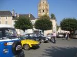 Balade Retro, Charroux classic car rally, gite holidays Poitou Charentes