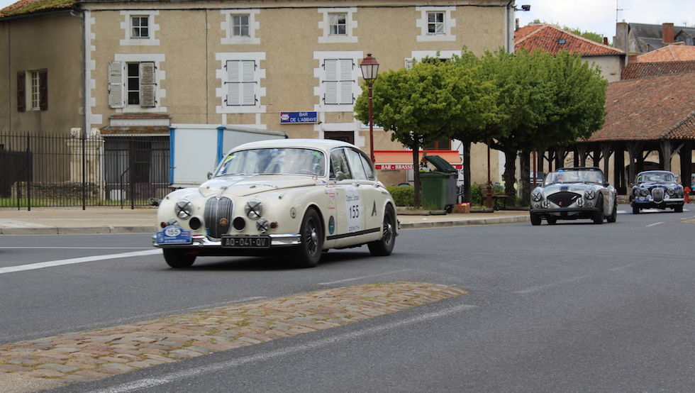 Classic car holiday in France